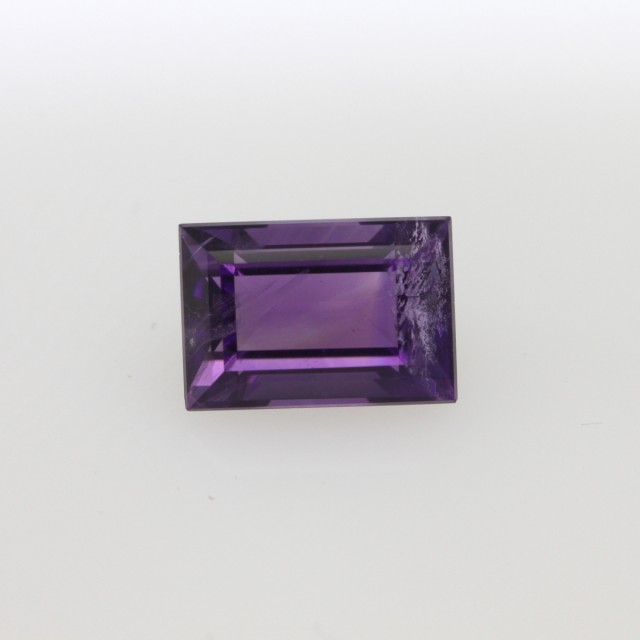 1.46cts Natural Purple Amethyst Baguette Shape