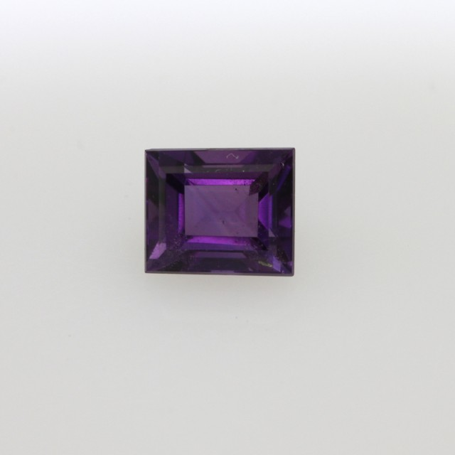 0.81cts Natural Purple Amethyst Baguette Shape