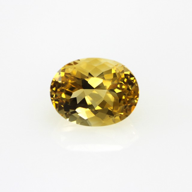 2.05cts Golden Yellow Citrine Oval Shape