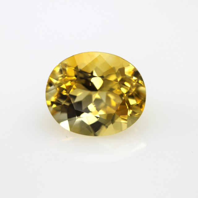 4.61cts Golden Yellow Citrine Oval Shape
