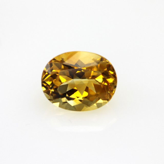 2.70cts Golden Yellow Citrine Oval Shape