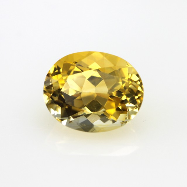 3.57cts Golden Yellow Citrine Oval Shape