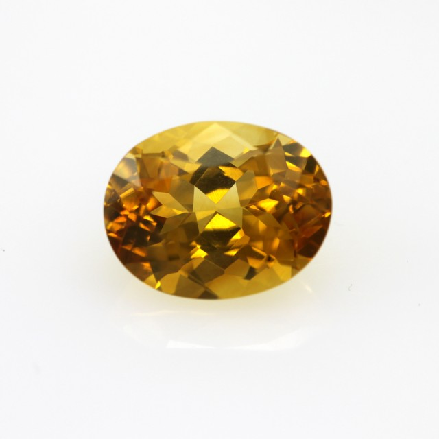 2.48cts Golden Yellow Citrine Oval Shape