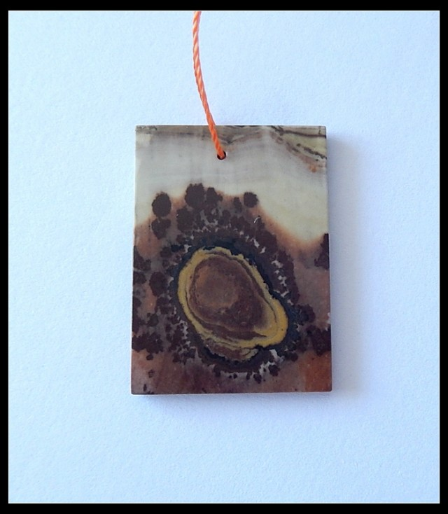 19.5CT Natural Chohua Jasper Pendant Bead