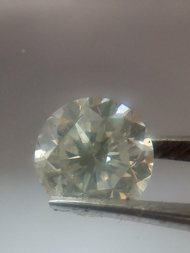 NATURAL SOLITIARE WHITE DIAMOND, 1.70CTWSIZE , 1PCS
