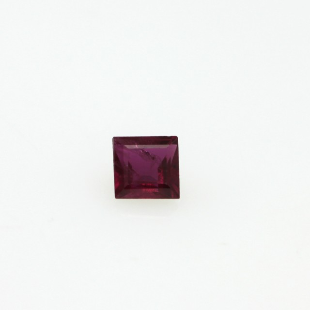 0.29cts Natural Ruby Square Cut