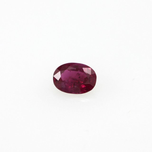0.24cts Natural Burmese Oval Shape Ruby