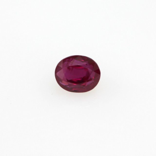 0.46cts Natural Burmese Oval Shape Ruby