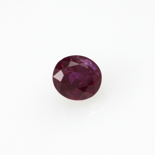 0.48cts Natural Burmese Oval Shape Ruby