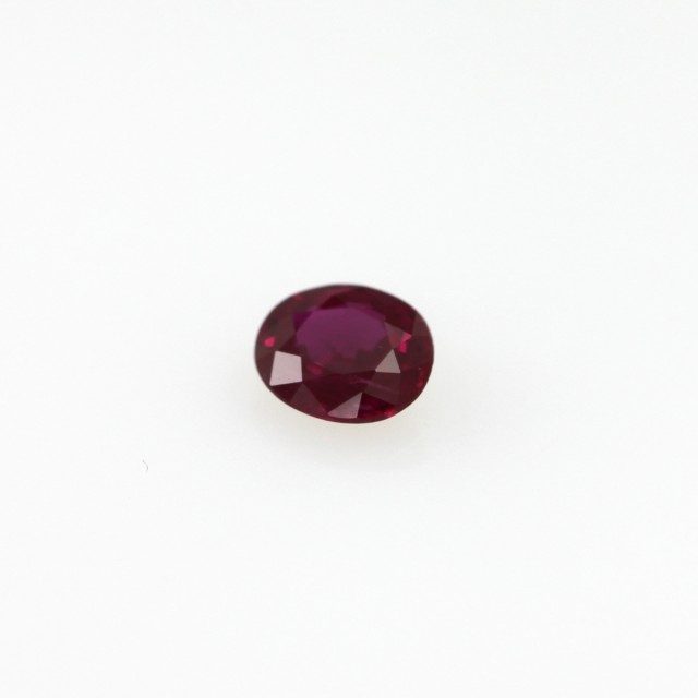 0.27cts Natural Burmese Oval Shape Ruby