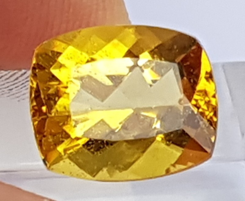 5.15cts,  Yellow Beryl / Helidore,  Untreated