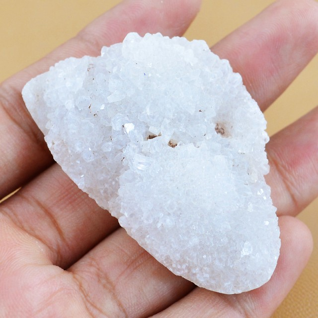 Genuine 126.75 Cts Crystallized Druzy Rough Geode