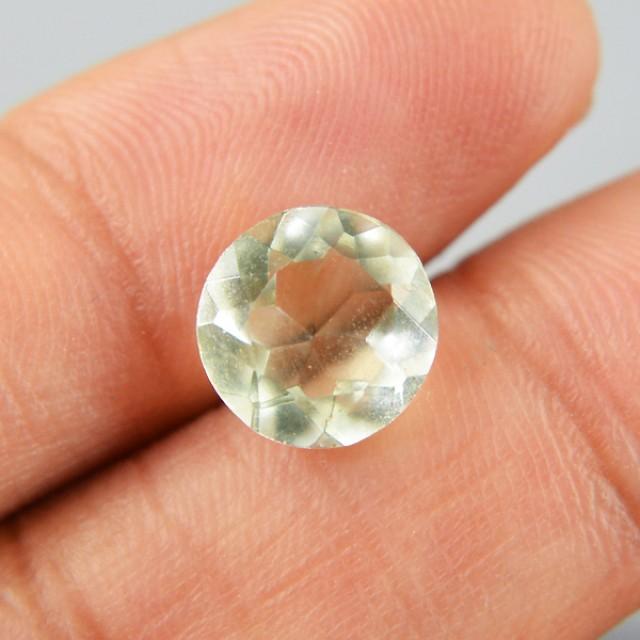 Genuine 2.80 Cts Prasiolite (Prasiolite) Gemstone