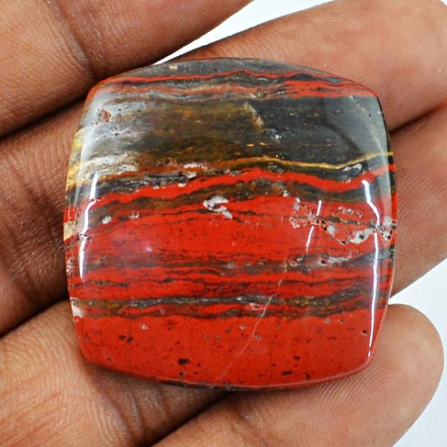 Genuine 52.20 Cts Untreated Red Jasper Cab