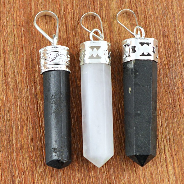 Natural 15.00 Gms Healing Point Pendant Lot
