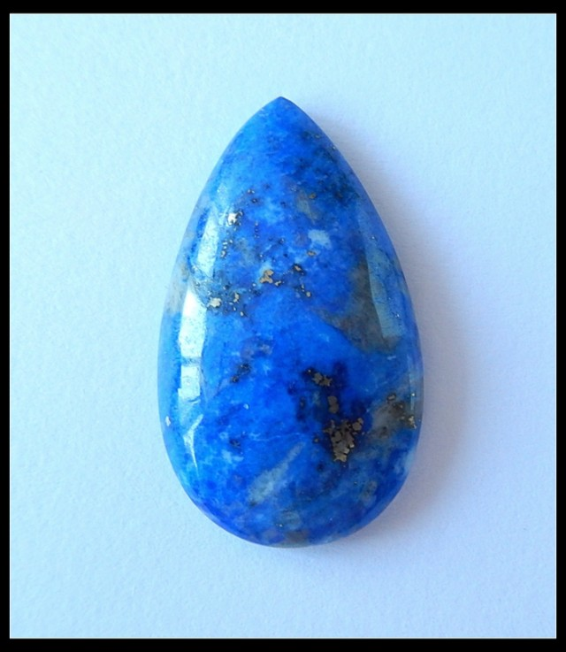 32Ct  Hot Sale Natural Lapis Lazuli Water drop Cabochon