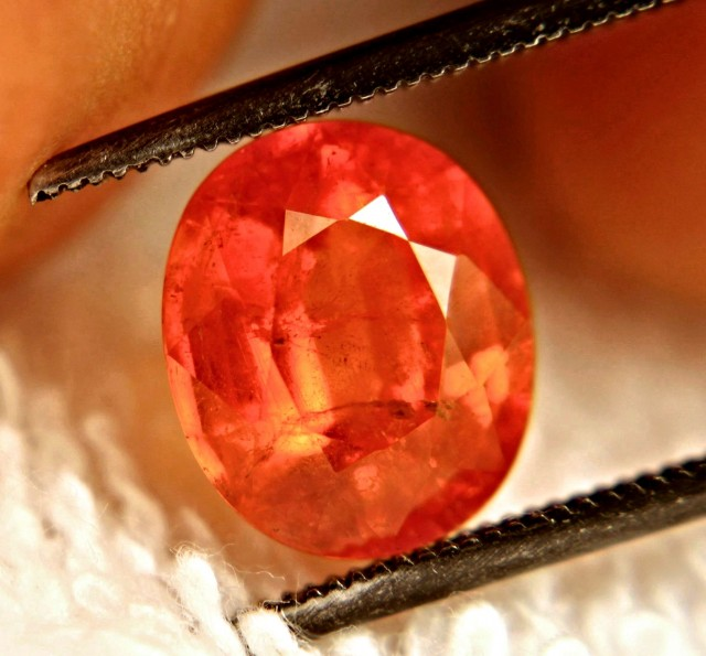 3.90 Carat SI Rare Orange Spessartite Garnet