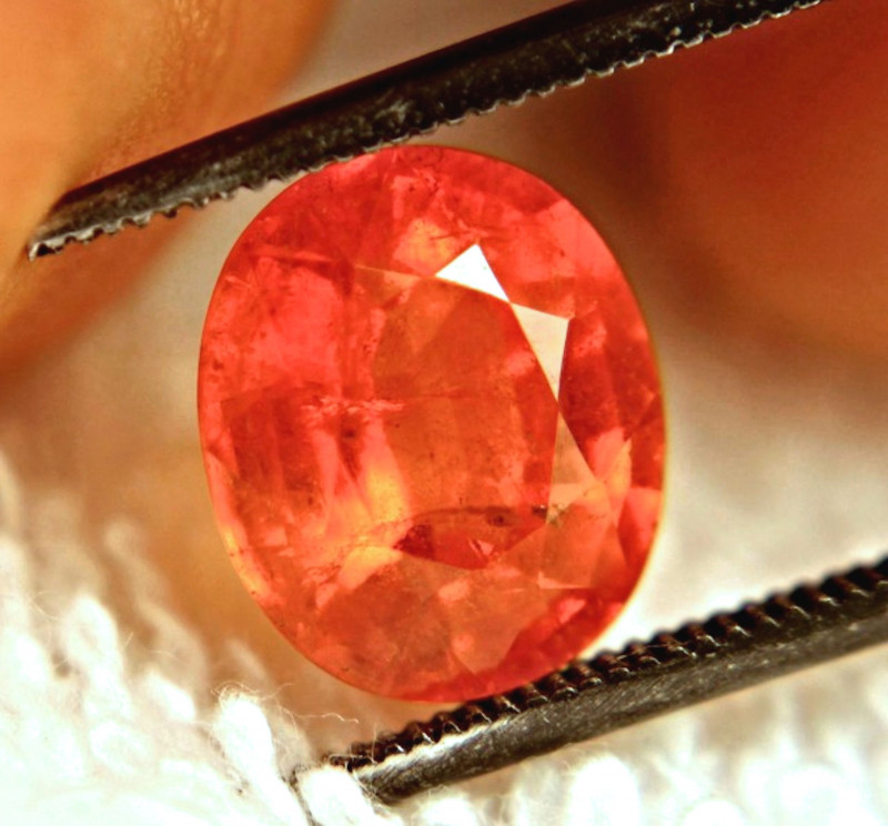 3.90 Carat SI Rare Orange Spessartite Garnet