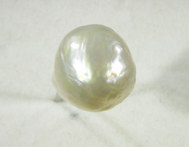 20.5 cts  graded high luster Cream color  Pearl    PP 5