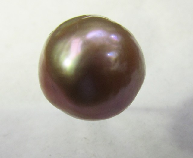 18.1 cts  graded high luster  powder pearl color Pearl    PP 513