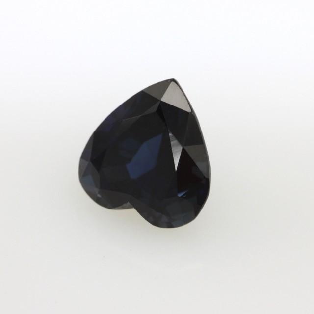 2.35cts Natural Australian Blue Sapphire Heart Shape