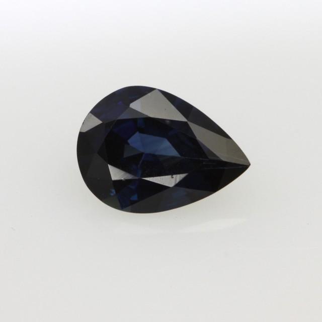 1.18cts Natural Australian Blue Sapphire Pear Shape