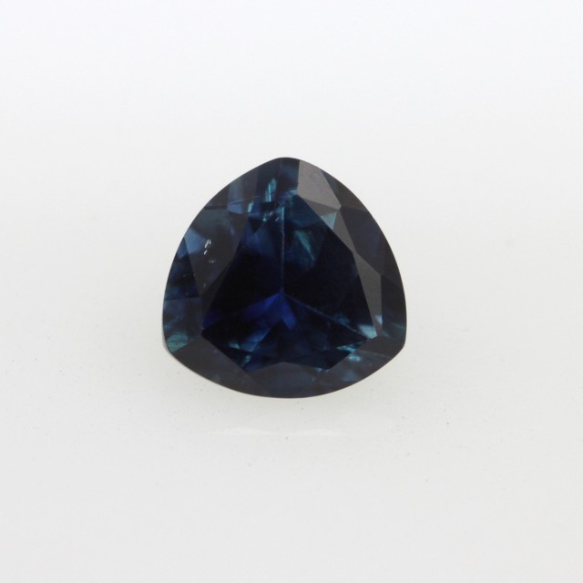 0.80cts Natural Australian Blue Sapphire Trillion Cut