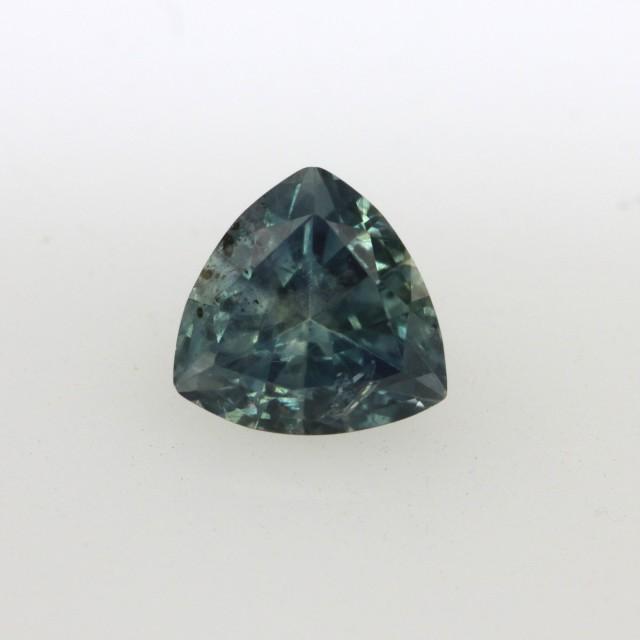 0.90cts Natural Australian Blue Sapphire Trillion Cut