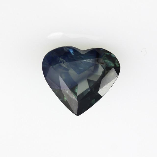 1.95cts Natural Australian Blue Sapphire Heart Shape