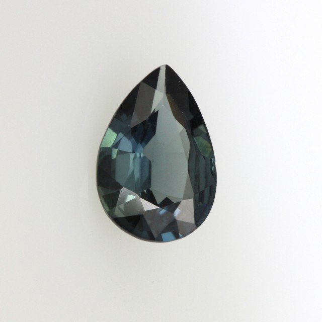 1.28cts Natural Australian Blue Sapphire Pear Shape