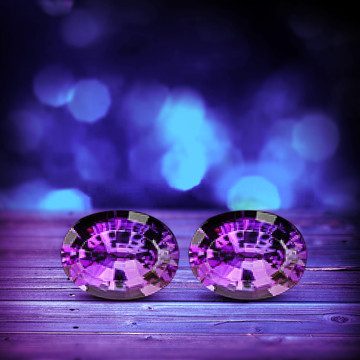 18.01 CTW BOLIVIAN AMETHYST - LOUPE CLEAN!  PERFECT COLOR!  MASTER CUT!