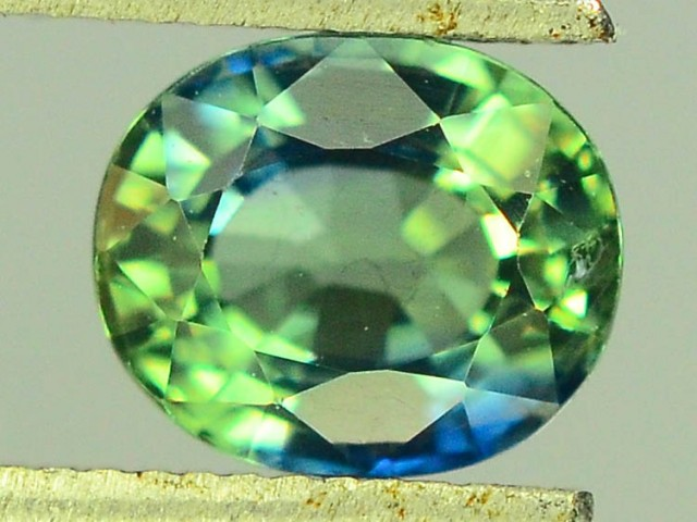 0.85 CT Natural Untreated Green Sapphire