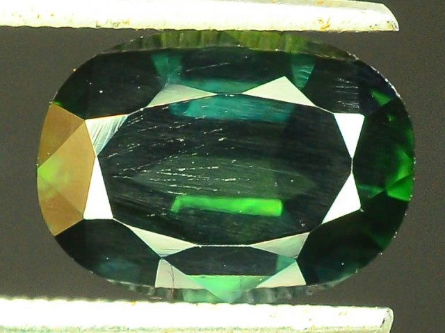 2.35 CT Natural Untreated Dark Green Sapphire
