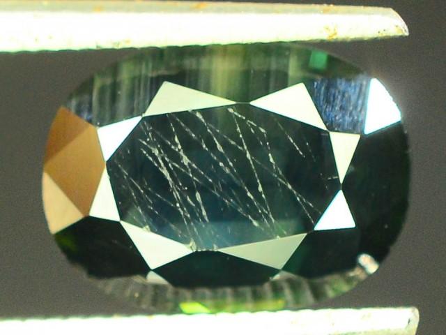 2.05 CT Natural Untreated Dark Green Sapphire