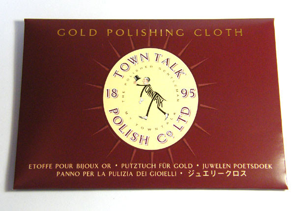 PROFESIONAL GOLD  POLISHING CLOTH  ML GA 9