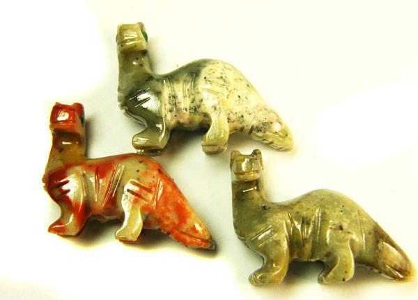 THREE CUTE ANIMAL ROCK CARVINGS PERU   AAA2684