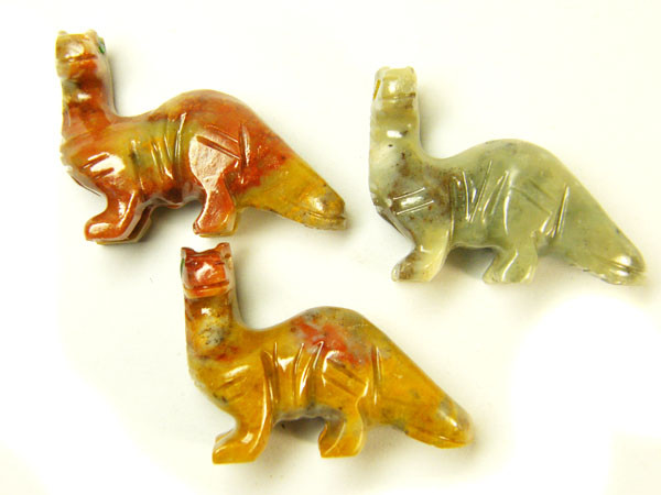 THREE CUTE ANIMAL ROCK CARVINGS PERU   AAA2686