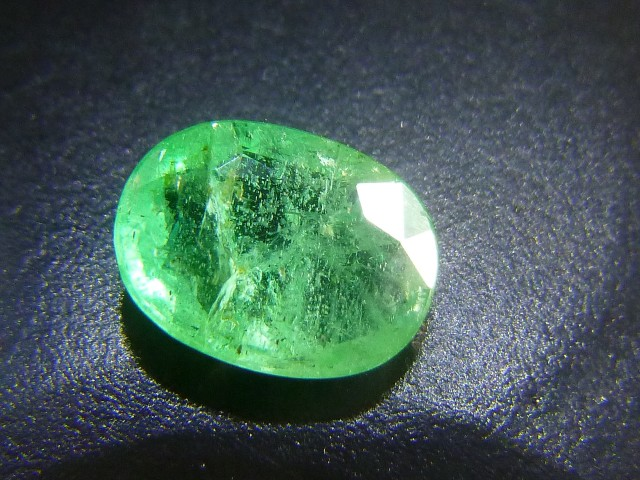 1.42cts  Colombian Emerald , 100% Natural Gemstone
