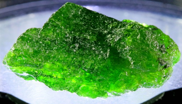 23.70 CTS CHROME DIOPSIDE FROM RUSSIA STABILIZED [F6641 ]