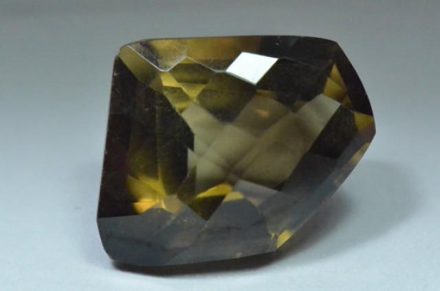 Smokey  Quartz Faceted gemstone