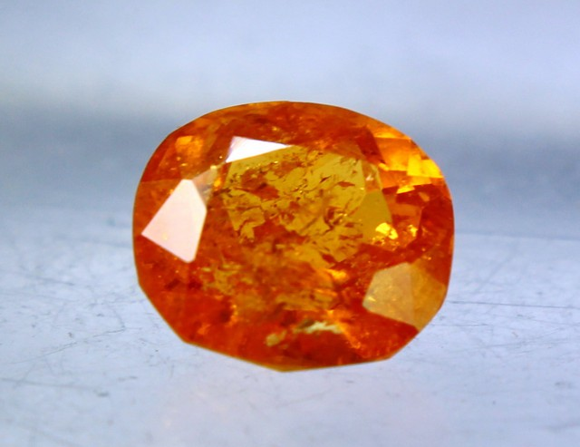 2.85 cts Spectacular Orange Spessartite Garnet Cut gemstone Single piece
