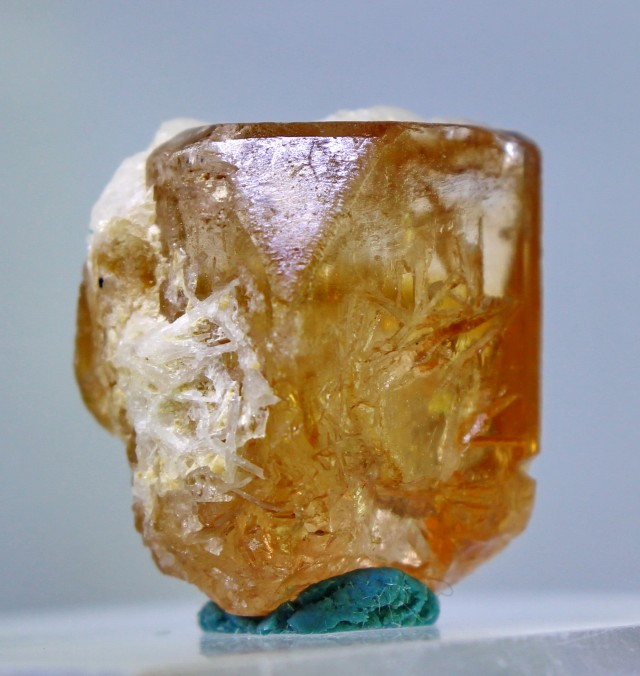 55.45 cts Top Quality & Superb Orange Brown Color Topaz Rough Crystal