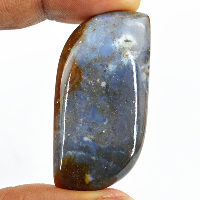 Genuine 65.00 Cts Untreated Agate Cab