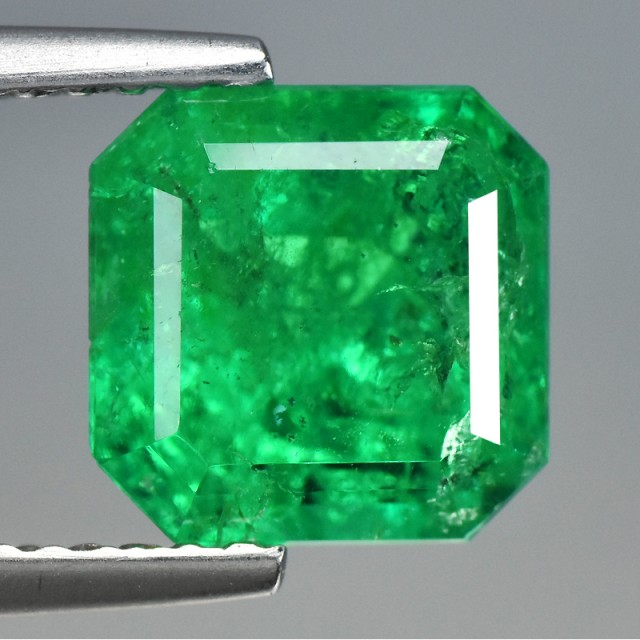 emerald mm faceted loose colombian cts