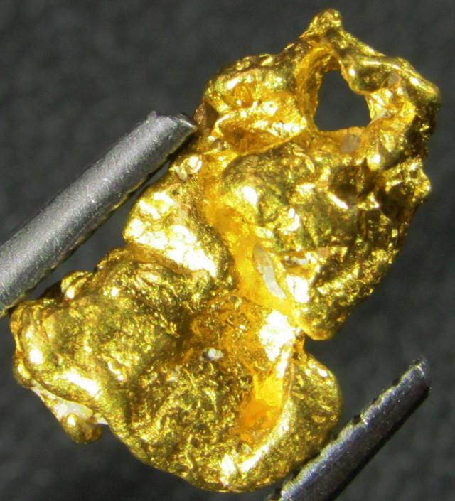 1.3 Grams  Kalgoorlie Gold Nugget, Australia LGN 1476