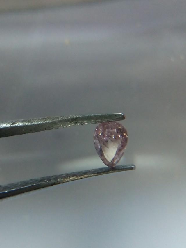 NATURAL FANCYPINKPURPLE DIAMOND, 0.15CTW,1PCS
