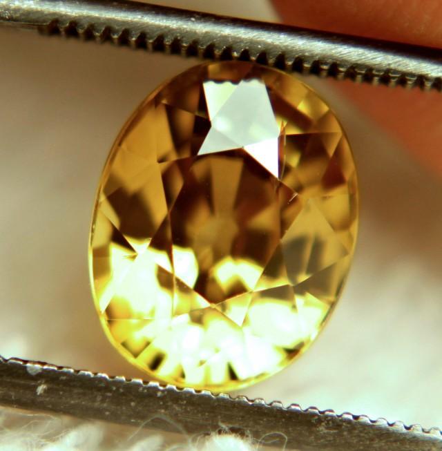 4.53 Carat VVS1 Southeast Asian Golden Zircon - Superb