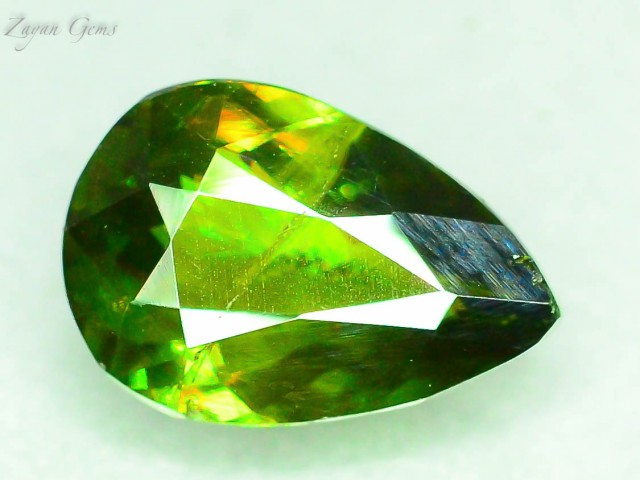 1.2 Natural Sphene Great Color Dispersion From Himalayan Range