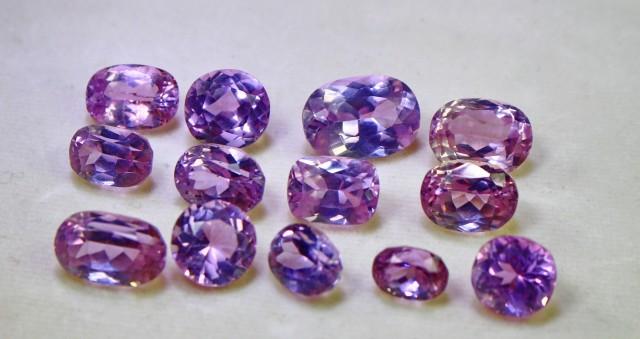 68+ct Bueatiful,Natural&Superb; Afghan Purple Pink Kunzite Gemstone Lot
