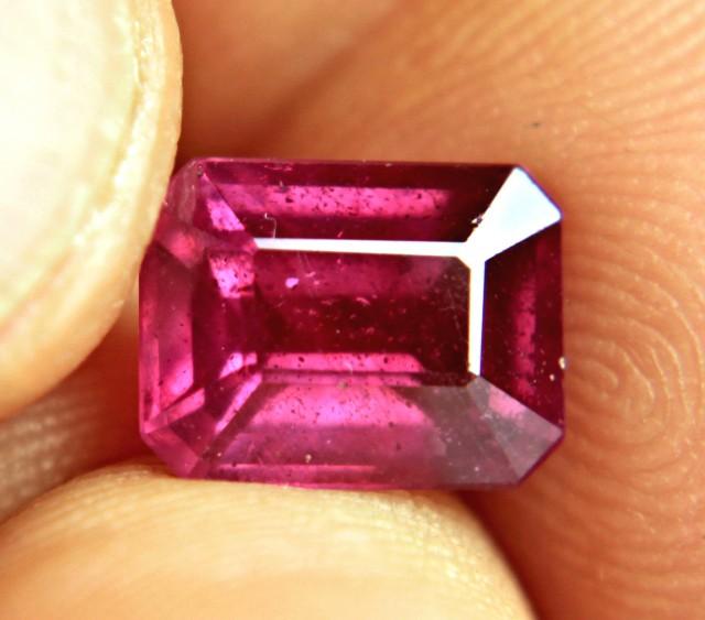 4.6 Carat Fiery Violet Ruby - Superb